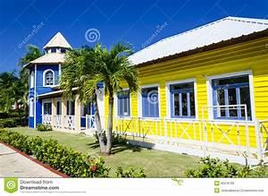 Sehr Günstige Häuser : h lzerne farbige h user sehr popul r in caribrean stockfoto bild 40476780 ~ Sanjose-hotels-ca.com Haus und Dekorationen
