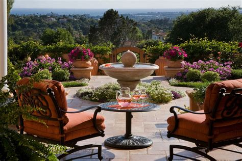 patio landscape designs patio fountain interior design ideas