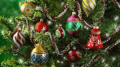 Tree Ornaments Colorful Sparkly Wallpapers Baubles Holiday