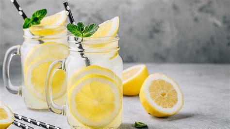 sipping lemon water     morning  good