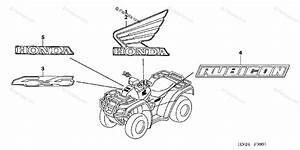 Honda Atv 2005 Oem Parts Diagram For Marks  Trx500fa  Fga