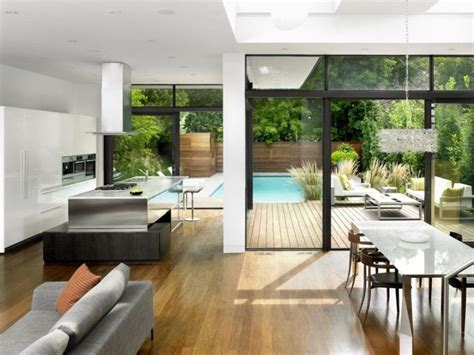 Small Open Plan Home Interiors by Exterior Design Split House Open Plan Interior Design