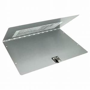 slim aluminum trailer document registration holder With aluminum portable document holder