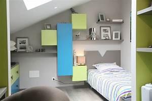 Suggestions pour une deco chambre vert et gris for Chambre vert et gris