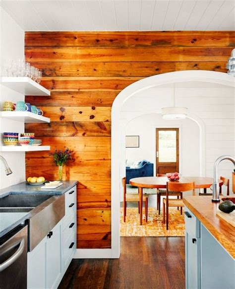 Shiplap Pine Wall Paneling by This Is Happening Shiplap Walls Kitchens Small
