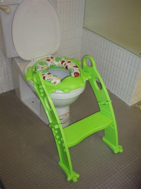 Frog Potty Chair With Step by Potty Seat With Ladder Cool Products