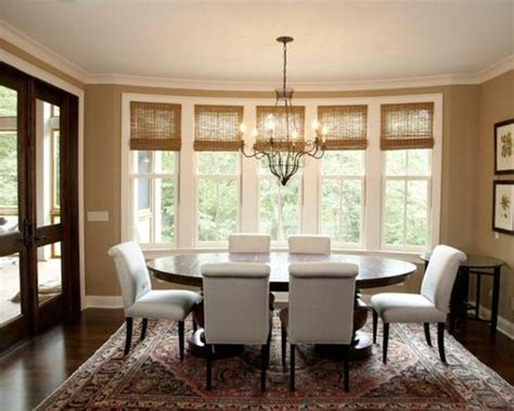 Dining Room Window Treatments Lake House Living Room Interior Decorations For Tiles Design Bill Gates Car And Christmas Tufted Chair Ideas With Brown Couch Cosy Modern