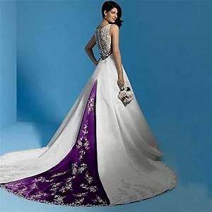 white and purple mermaid wedding dress naf dresses With wedding dresses purple