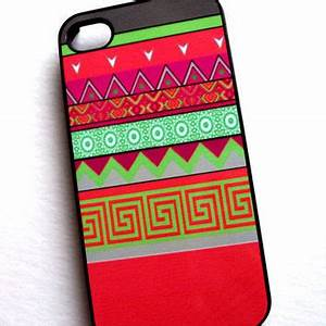 Neon Tribal iPhone 4 4S Sassy Cases from SassyCases on Etsy