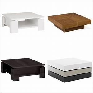 Table Basse Carrée 100x100 : table basse carr e trouvez les meilleurs prix avec le ~ Teatrodelosmanantiales.com Idées de Décoration