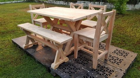 garden furniture out of wood pallets pallet ideas
