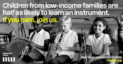 Call For Music Education Access In Schools