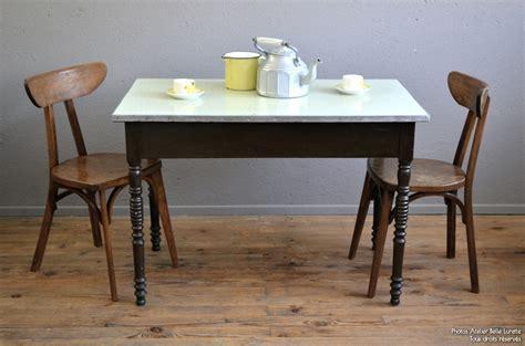 table cuisine bistrot table bistrot ginette l 39 atelier lurette