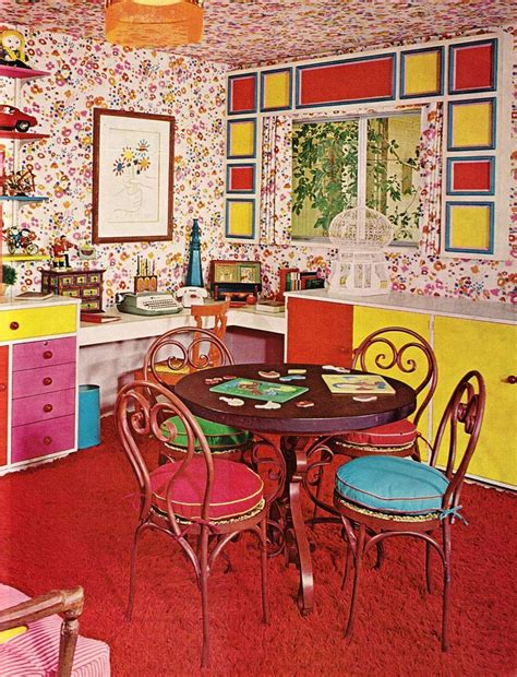 a home decor highlights from the 1970 practical encylopedia of