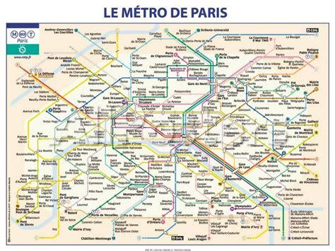 Carte Metro Pdf by Carte Metro Ratp My
