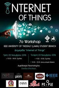 Ieee Uth Lamia  Sb  U2013  U201cinternet Of Things U201d Workshop  U00bb Ieee