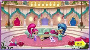 Nick Jr Pumpkin Stencils by New Nick Jr Game Shimmer And Shine Genie Palace Divine