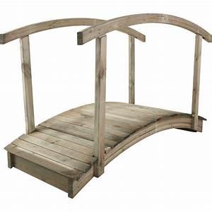 Pont En Bois Pour Jardin : pergola bois de style japonais penmie bee ~ Nature-et-papiers.com Idées de Décoration