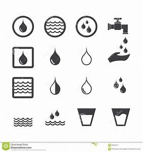Water Icon Stock Vector - Image: 63922517