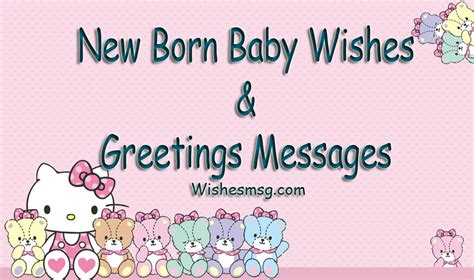 born baby wishes congratulations messages wishesmsg