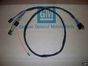 Auto Trans Console Wiring Harness 68 Pontiac Gto Lemans