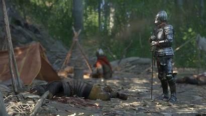 Kingdom Deliverance Come Sword Warhorse Mechanics Combat