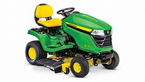 X330 Lawn Tractor With 42-inch Deck
