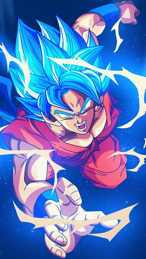 bc dragonball goku blue art illustration anime wallpaper