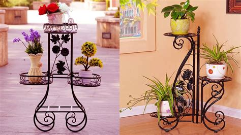Unique Indoor Flower Pot Stands