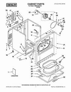 35 Crosley Dryer Parts Diagram