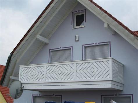 Balkongeländer Verkleidung Kunststoff by Balkongelaender Auburger Balkongel 228 Nder Aus Kunststoff
