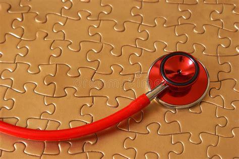 healthcare puzzle stock image image  artz patients