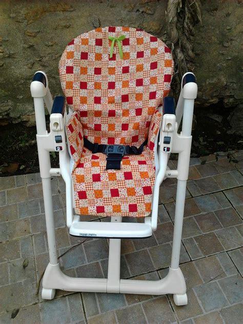 housse de chaise haute bebe patron grandeur nature tuto housse chaise haute