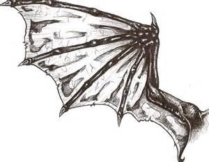 Dragon Wings Tattoo Designs