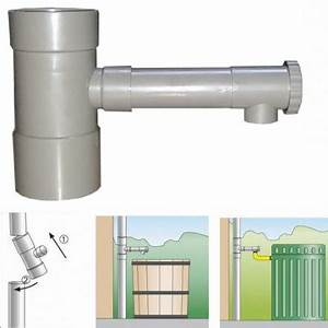 Recupérateur Eau De Pluie : r cup rateur d 39 eau de pluie pour goutti re de 100 mm hd ~ Premium-room.com Idées de Décoration