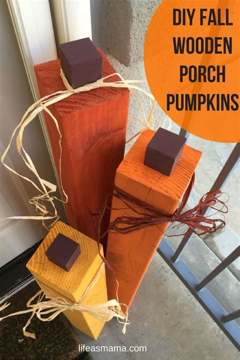 turkey crafts for this modern take on pumpkins you just need some 4x4 5623