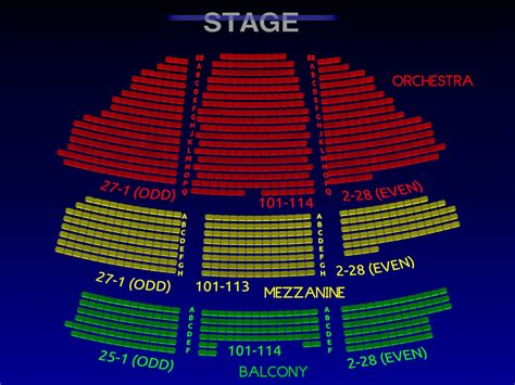 belasco theatre group broadway seating chart history info broadway scene