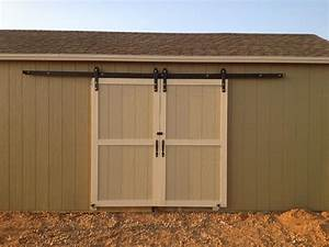 Good exterior sliding barn door hardware exterior for Barn door glides