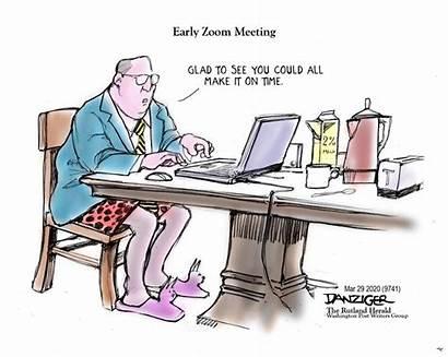 Cartoon Meeting Editorial Cartoons Danziger Covid Jeff