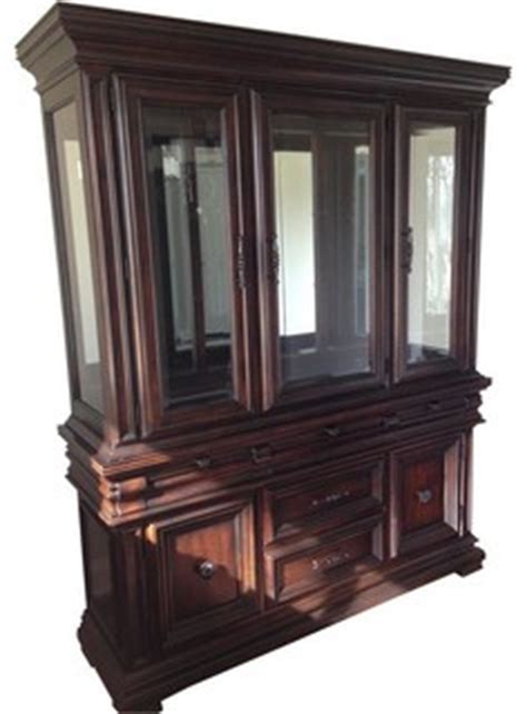 macys corner china cabinet macy s legacy classic furniture china cabinet