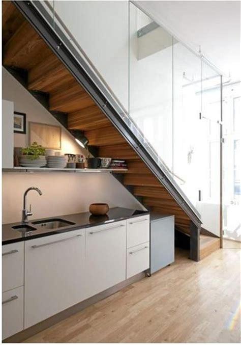 stairs kitchen storage practical kitchen storage solutions 6569