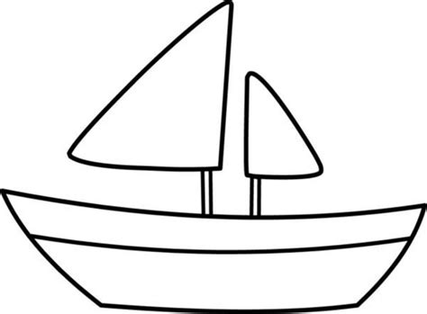 Boat Paddle Outline by Free Canoe Clip Black And White Outline Sketch