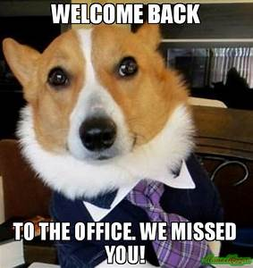 Funny Welcome Back We Missed You Pictures to Pin on ...