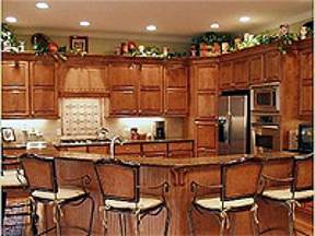top of kitchen cabinet ideas light up your cabinets with rope lights hgtv