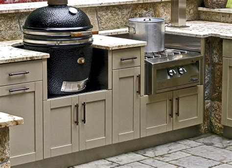 Outdoor Kitchen Appliance Cabinetry   Danver