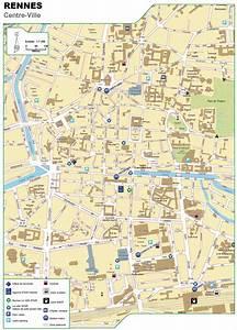 Autovalley Rennes : cartes de rennes cartes typographiques d taill es de rennes france de haute qualit ~ Gottalentnigeria.com Avis de Voitures