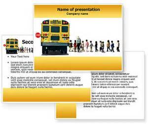 School Bus PowerPoint Template