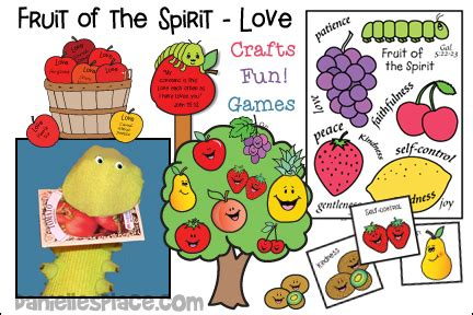 fruit of the spirit sunday school lesson 848 | fruit of the spirit love bible lesson crafts