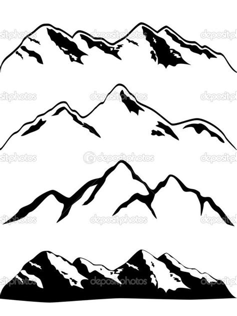 64+ Simple Mountain Tattoos Collection