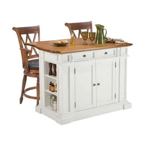 oak kitchen island with seating home styles traditions distressed oak drop leaf kitchen 7133